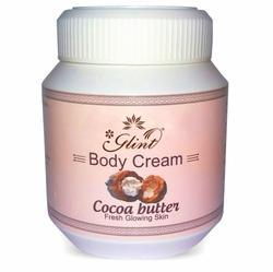 Glint Body Cocoa Butter Cream, Packaging Size: 300 Ml, for Personal