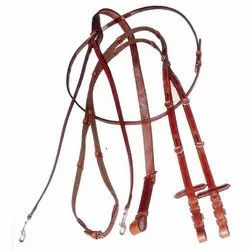 Brown Leather Martingales