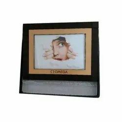 Brown Rectangular Wooden Promotional Frame, Size: 12*18 Cm
