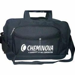 Nylon Black Large Travel Bag