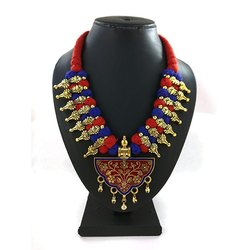 Party Wear Meenakari Kolhapuri Necklace