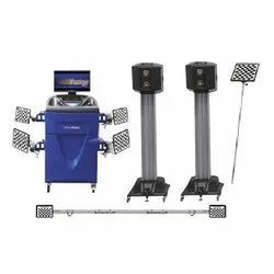3D Wheel Alignment Machines