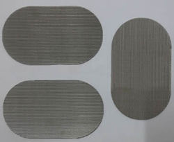 Oval Filter Wire Mesh