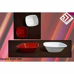 Acrylic Square Bowl Set