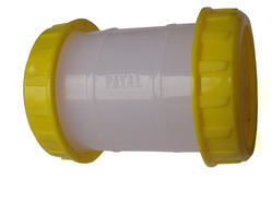 PVC White Pipe Repair Coupler, For irrigation Pipes, Size: 2 Inch