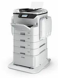 Epson WORKFORCE PRO WF-C869R Color Inkjet Multi-Function Printer, Upto 35 ppm