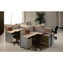 Wooden Office Workstation