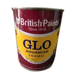 High Gloss 4 Liter British GLO Advanced Red Enamel Paint