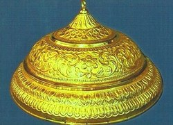 Real Gold Plated Chhatra