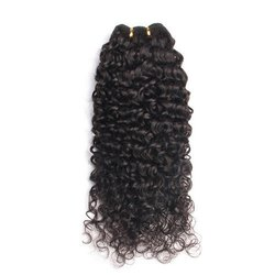 Virgin Indian Curly Hair Extensions
