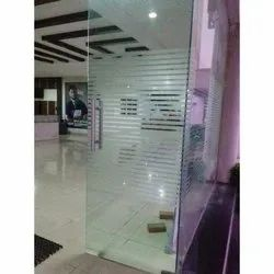 Transparent Tempered Safety Glass, Thickness: 3-8 Mm