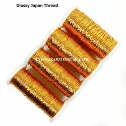 METALLIC ZARI THREAD GOLDEN COLOR