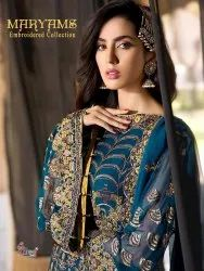 Shree Fabs Maryams Embroidered Collection Pakistani Style Salwar Suits Catalog