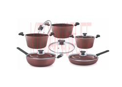 Cookware Set - 10 Pcs. Chocolate