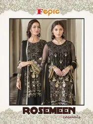 Rosemeen Casuals Designer Pakistani Suit