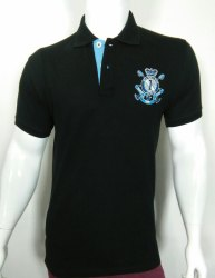 Mens Embroidered Polo T Shirt
