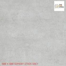 600 x 600 Somany Ethos Grey