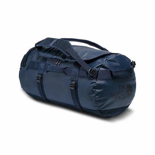 Navy Blue Polyester Duffle Bag 92543d9cd1458