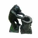 Bear Holding Stem Look Fountain