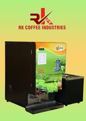 Live Coffee Vending Machine