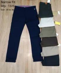 Narrow Cotton Pants