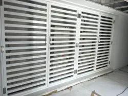 Aluminium Security Door