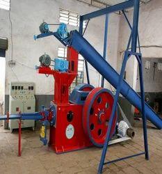 Semi-Automatic Bio Coal Briquetting Plant, Capacity: 500-1000 kg/hr