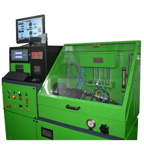 Common Rail Injector & Pump Testing Stand - Indian Machine