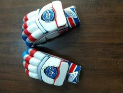 Enrobe Cotton Cricket Batting Gloves, Size: Medium