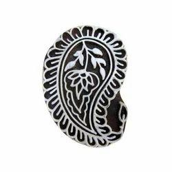 Wooden Heena Designer Stamp