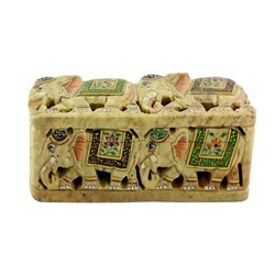 Decorative Soapstone Boxes