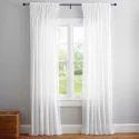 Plain Plain Cotton Curtain
