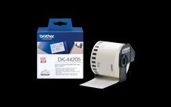 Brother DK-44205 Continuous Paper Label Roll with Removable Adhesive