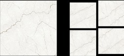 Bottochino Bianco Polished Glazed Vitrified Tile