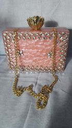 Ladies Handicraft Box Bag