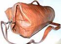 Genuine Leather Military Duffel Bag