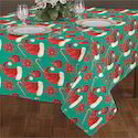 Cotton Christmas Printed Table Cloth