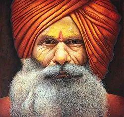 Hyper Realistic Portrait Painting