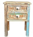 Liberty Reclaimed Wood 2 Drawer Bedside