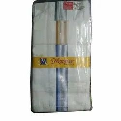 Mens White Handkerchief