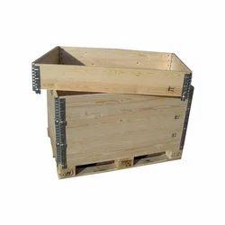 Storage Wooden Box With Latch