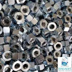 BIF Hexagonal Stainless Steel Heavy Hex Nut, Size: M6 To M100