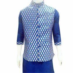Silk Large Mens Wedding Waistcoat