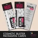 Kajal Blister Packaging Cards