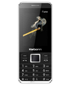 Karbonn Flame 128 MB Black Phone
