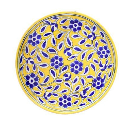 Blue And Yellow Pottery Plates  sc 1 st  IndiaMART & Blue And Yellow Pottery Plates at Rs 1699 /piece | Blue Pottery ...