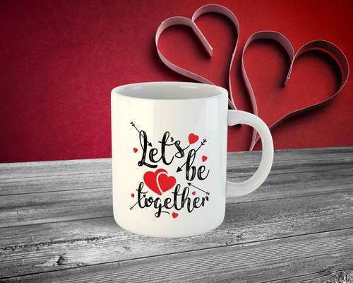 multi personalized white mug print size 95 mm rs 100 piece id