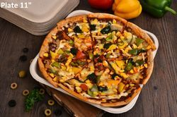 Pizza Bagasse Plate