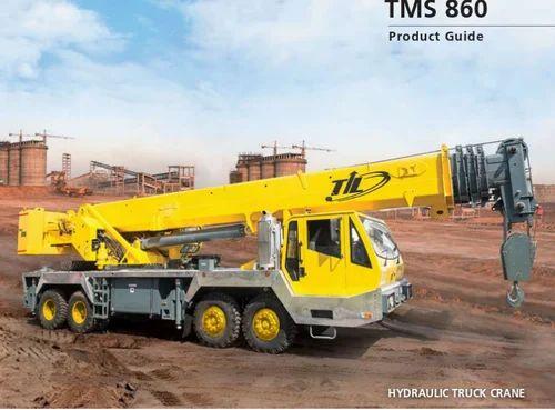 Truck Mounted TMS 860, Truck Mounted Cranes | Garden Reach, Mumbai