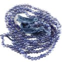 Daily Wear Blue Iolite Kakaneeli Mala Bead, Size: 4 To 12 Mm